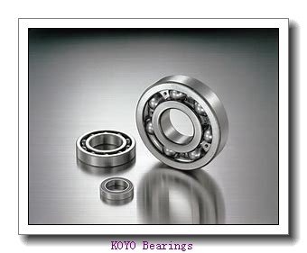 55 mm x 120 mm x 49.2 mm  KOYO 5311-2RS angular contact ball bearings