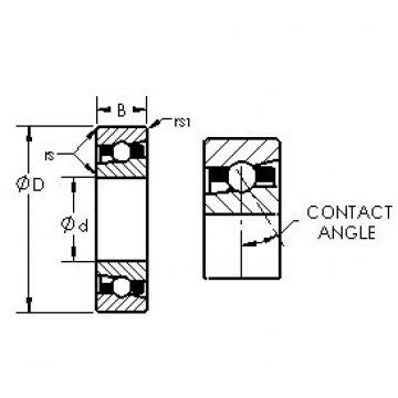 AST H71919AC angular contact ball bearings