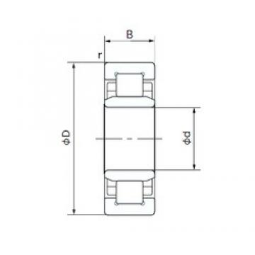 75 mm x 160 mm x 37 mm  NACHI NU315T cylindrical roller bearings