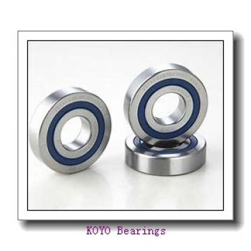 75 mm x 160 mm x 37 mm  KOYO 6315-2RS deep groove ball bearings