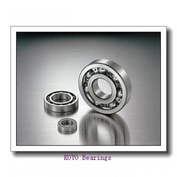 22 mm x 44 mm x 15 mm  KOYO 320/22JR tapered roller bearings