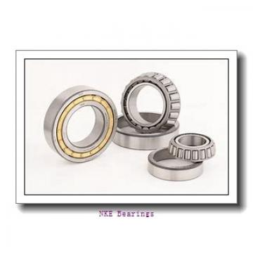 70 mm x 125 mm x 24 mm  NKE 7214-BE-TVP angular contact ball bearings